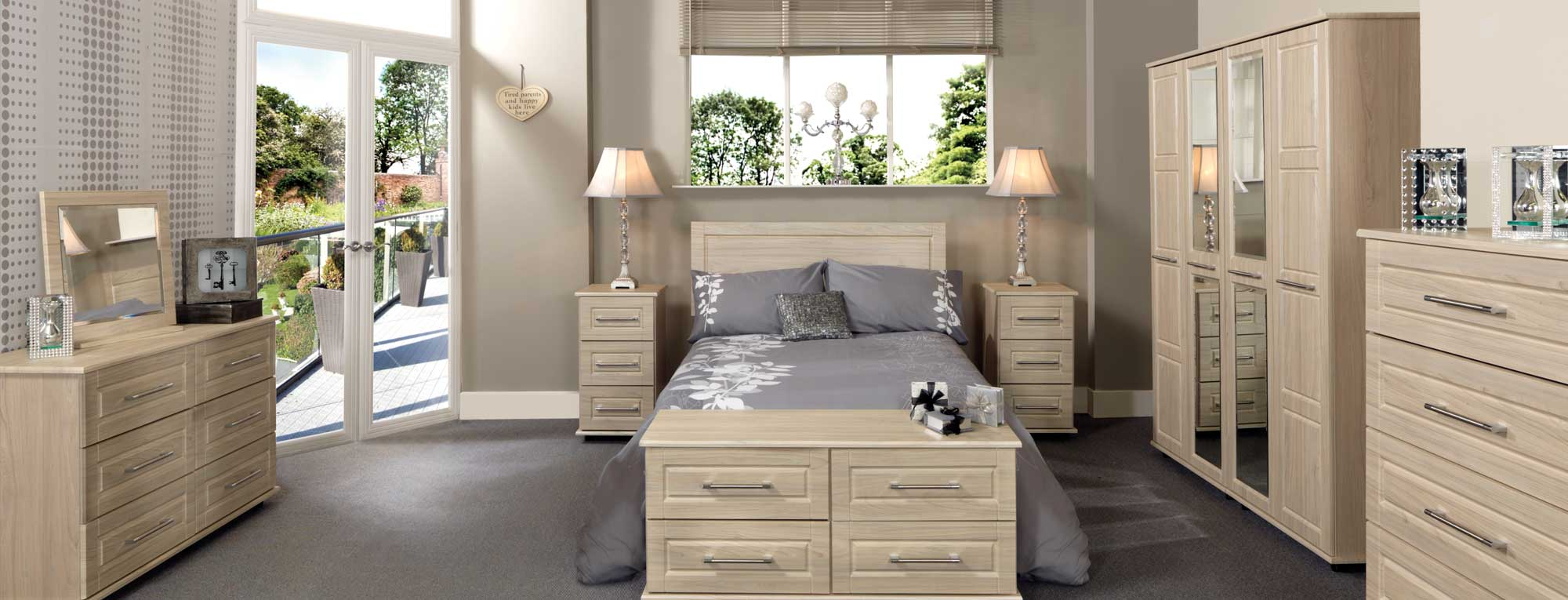 Bedroom Furniture Ranges with fantastic Low Prices this May!